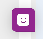 Screenshot of the available Chat function icon. Located on all pages.