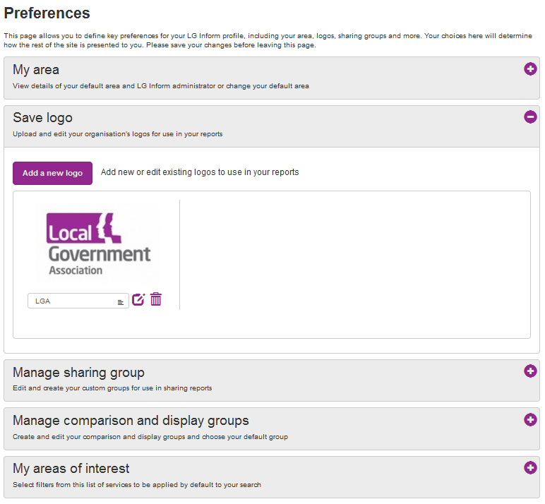 Screenshot showing the Preferences 'Save Logo' dialogue box.