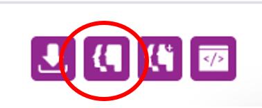 Screenshot highlighting the View an LG Inform report icon